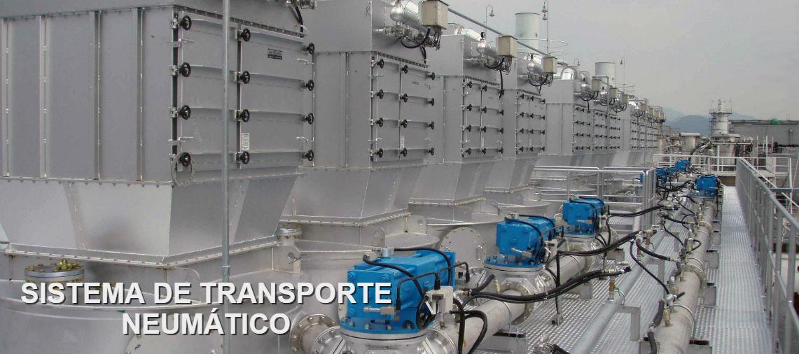 Sistema de transporte neumático